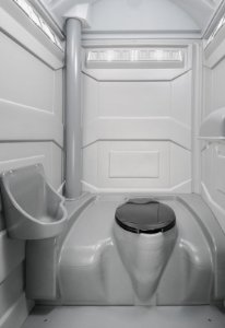 Rent Portable Toilet - white unit for special event in New Jersey